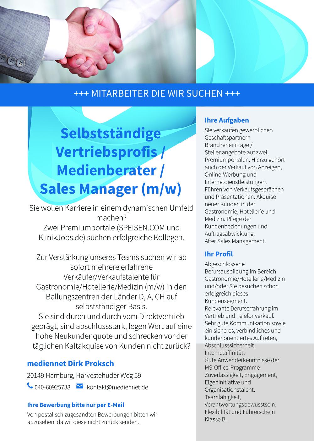 mediennet Jobs